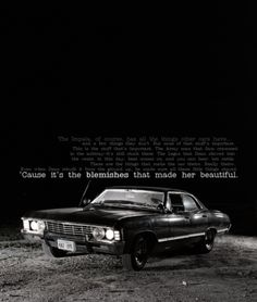 Supernatural.... one day I will have you darlin. I may be an old woman but I will feel like the coolest chick in town!!