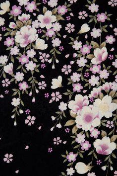 着物 No:771 商品名:黒 藤桜                                                                                                                                                                                 もっと見る