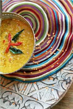 how to make dhal curry sri lankan