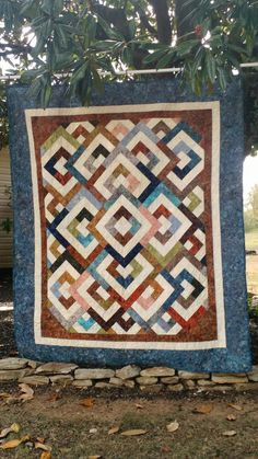Majestic Mountain Quilt Pattern from Missouri Star Quilt Co ... : diamond double quilt pattern - Adamdwight.com