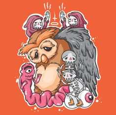 Owl by Tommings at Draw24