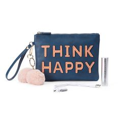 Under One Sky Pom Pom Smartphone Charging Wristlet, Women's,
