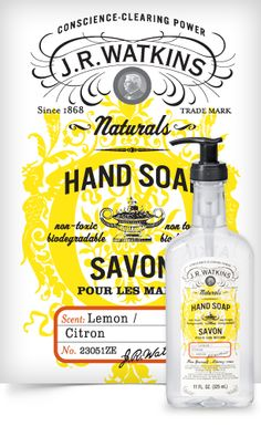 Liquid Hand Soap - Formulated with natural ingredients and essential oils, this hard-working soap is gentle on hands. Enjoy Watkinsandrsquo