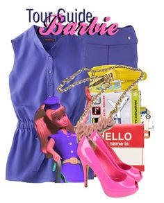 Tour Guide Barbie Halloween Costume