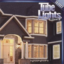 Clear Rope Tube Lighting-Indoor/Outdoor - for around the patio