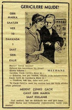 Baylar Gerici misiniz ? Advertising History, Old Advertisements, Old Pictures, Old Photos, Old Poster, Marketing Words, Good Old Times, History Photos, Old Ads