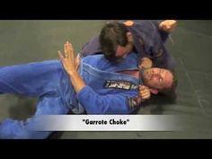 Ninja Roll Choke - Garrote Choke and more! www.BJJafter40.com - YouTube