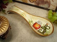 Tuscan Cucina Design Spoon Rest Favors