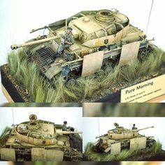 "979 Likes, 2 Comments - Usina dos Kits (@usinadoskits) on Instagram: """"Pure Morning"" 1/35 diorama. Panzer IV Ausf H. Modeler 서영석 #scalemodel #plastimodelismo…"""