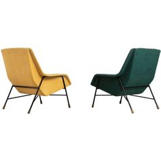 Alfred Hendrickx S12 Lounge Chairs for Belform ca.1950s