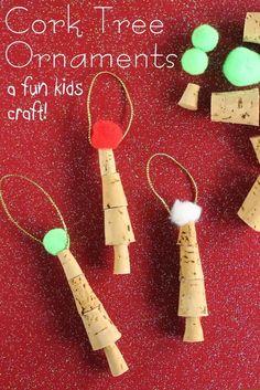 Easy Cork Ornaments