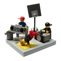 LEGO B-boy