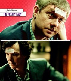 John Watson starring as The Pretty Lady