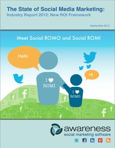 You spoke, we listened; our recent survey showed the #1 challenge in social media is measuring social marketing ROI. The solution to this challenge is detailed in New ROI Framework: The State of Social Media Marketing. Meet social ROMI and social ROMO!