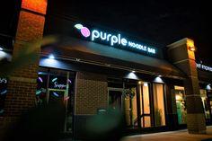 Purple Noodle Bar offers customers a clean, gluten-free experience... •⠀ •⠀ •⠀ #vietnamesefood #winnipeg #yeg #brandidentity #design #brandingdesign #branding #graphicdesigner #graphicdesign #designer #vietnamesefoods #asiancuisine #wpg #wpgnow #winnipegbusiness #signage #signmaker #signagedesign Vietnamese Pho, Vietnamese Recipes, Signage Design, Branding Design, Fun Noodles, Noodle Restaurant, Noodle Bar, Gluten Free Restaurants, Sign Maker