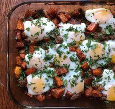 Turkey Sausage and Sweet Potato Hash