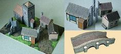 Medieval Building in Papercraft (Michael James, 2009)