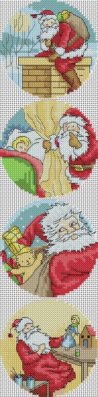Vintage Father Christmas Cross Stitch Patterns http://lucieheaton.com/cross-stitch-patterns-and-designs/christmas-cross-stitch-patterns/vintage-father-christmas-santa-cross-stitch-card-pattern-design
