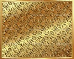 Gold background with a pattern — Stock Vector © Evgen79 #21227657