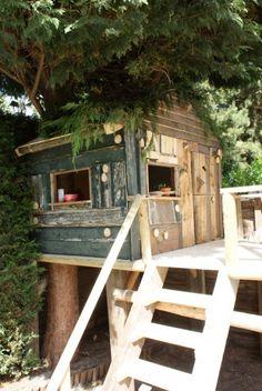 boshuisje voor de kids! Door samloeloe