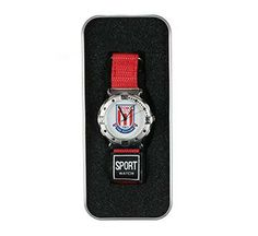 Is it a TAG Heuer? A Hublot? Forgot those brands, it's the Stoke City watch that draws the ladies.