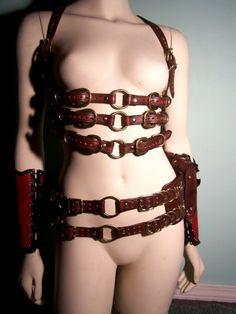Leather Steampunk Belt Bag