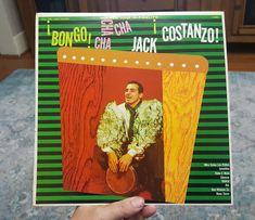 JACK COSTANZO Bongo Cha Cha Cha Vinyl LP 1960 Golden Tone C-4061 Mono #CubanSonMamboRumba