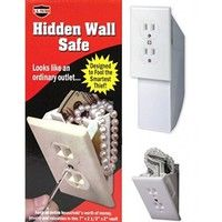 Wish | Hidden Wall Safe Diversion Safe Outlet Safe Stash Box Hide Valuables (Size: 1 set, Color: White)