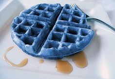 PERCY! YOUR MOM MADE BLUE WAFFLES FOR BREAKFAST! COME AND GET SOME BEFORE I EAT THEM ALL!