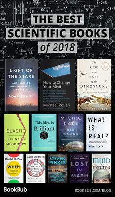 Looking for a compelling read that will also make you smarter? These great, scientific nonfiction books will open your mind to so many new subjects. Wissenschaft The Best Science Books of the Year Best Books To Read, Good Books, My Books, Teen Books, Best Sci Fi Books, I Love Books, Book Challenge, Reading Challenge, Book Club Books