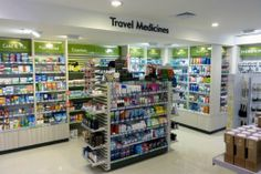 TravelPharm (Domestic Airport) - This TravelPharm is based in Auckland's domestic airport.