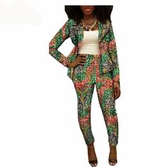 Special Use: Traditional Clothing. Item Type: Africa Clothing Type: Kanga Clothing Material: Cotton Type: Top+Pant Suit. Estimated delivery time 7 - 21 days Color: 16 Sleeve: Full Length: Ankle Lining: Top Season: Autumn
