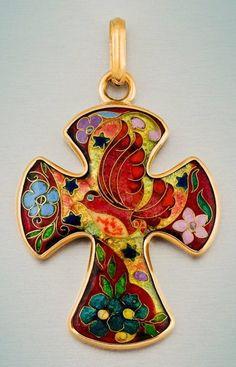 Khatuna Roinishvili cloisonne enamel art jewelry