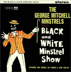 Black people show minstrel