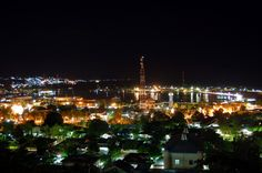 Selamat Malam Luwuk View dari Tontouan