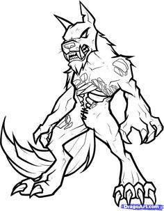 a heart shaped planet coloring page for children | favorite ... - Realistic Werewolf Coloring Pages