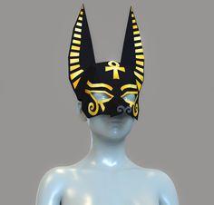 Anime Egyptian, Egyptian Mask, Egyptian Anubis, Egyptian Makeup, Egyptian Party, Egyptian Costume Kids, Anubis Costume, Toothless Toy, Anubis Mask