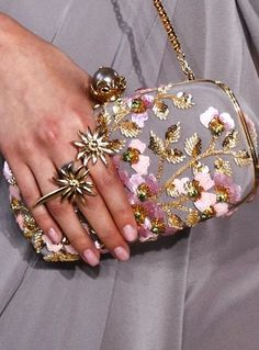 Georges Hobeika fall 2016 couture Edelweiss ring!! Want this so much