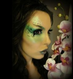 Garden fairy make up