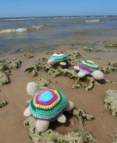 turtle crochet pattern | Tortoise Crochet Amigurumi Pattern turtle toy PDF ebook - easy crochet ...