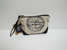 Items similar to Leather x Fabric l Handsewn Pouch / Coin Purse / Gift / Paris / French / Vintage on Etsy Gold Bags, Pouch, Wallet, Hand Sewing, Knit Crochet, Coin Purse, Coins, Hair Accessories, Vintage