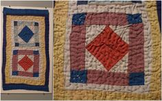 file under fiber: doll and crib quilt exhibit, fab photos!