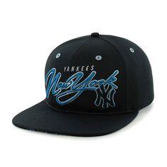 New York Yankees Sweet Cheese Logo Black 47 Brand Adjustable Hat