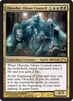 Obzedat, Ghost Council MtG Magic the Gathering card