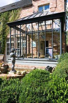 Conservatory/Solarium of Belgian design Outdoor Rooms, Indoor Outdoor, Outdoor Living, Extension Veranda, Gazebos, Conservatory Garden, Glass Room, Lean To, House Extensions