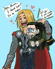 schwitz:  Loki Go Home For Thor, Loki is just his cute little brother :) he should be…!