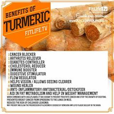Benefits of Turmeric