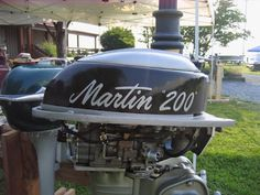 Vintage Outboard - 20 horse Martin