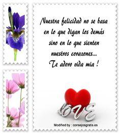 poemas de amor para mi novia,palabras de amor para mi novia,textos bonitos de amor para mi novia : http://www.consejosgratis.es/bonitos-mensajes-de-amor/