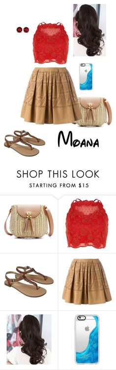 """Disney - Moana"" by briony-jae ❤ liked on Polyvore featuring River Island, Merona, Fendi, Casetify and Kevin Jewelers"